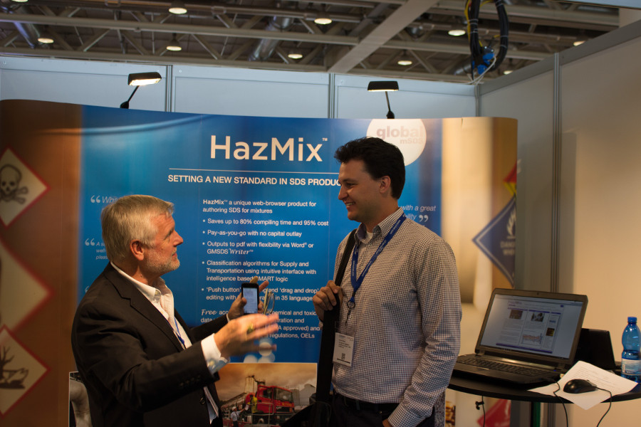Hazmix  - east meets West at the Chemspec event in Basel, Switzerland, June 2016